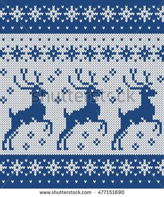 Find Norwegian Sweater Deer Snowflake Seamless Knitting stock images in HD and millions of other royalty-free stock photos, illustrations and vectors in the Shutterstock collection. Knitting Charts, Loom Knitting, Knitting Stitches, Free Knitting, Baby Knitting, Knitting Sweaters, Tejido Fair Isle, Christmas Knitting Patterns, Seed Stitch