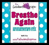 Breathe Again Aromatherapy Stick