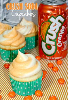 Crush Soda Cupcakes