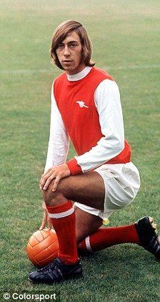 Charlie George (Arsenal) One of the best Gunners ever