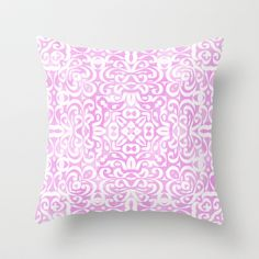 Emma in Lavender Throw Pillow by Lisa Argyropoulos - $20.00