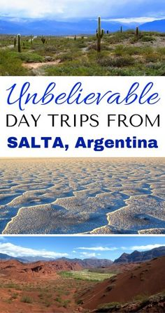 ARGENTINA TRAVEL: 3 Easy Day Trips from Salta Argentina Filled with Incredible Landscapes! // Day trip to Cachi, Cafayate, and Jujuy.