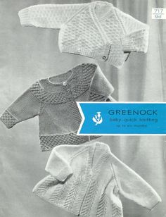 30575047d317 Greenock 936 baby matinee coat and dress set vintage by Ellisadine ...