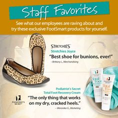 See what our FootSmart employees are raving about and try these exclusive FootSmart products for yourself.
