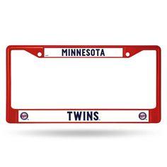 Minnesota Twins Metal License Plate Frame - Red #MinnesotaTwins