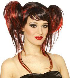 Std Size Adult Devil Costume Wig The Devil Do!