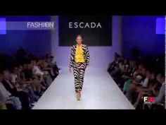"""ESCADA"" Fashion Show Spring Summer 2014 Athens by Fashion Channel - YouTube"