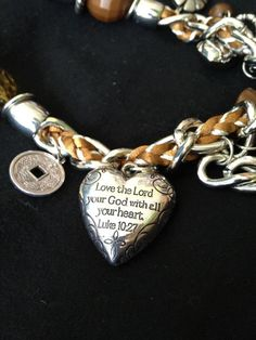 A close up of the charm on one of my favorite necklaces! I have it in brown, blue, red, white and black. It is one of my personal favorites and looks good on ANYONE! It is yours for only $5. Great addition your your wardrobe or a great gift for a friend or daughter!  https://www.facebook.com/5dollarjewelrylovers