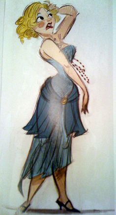 concept art for the Princess and the Frog