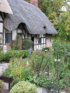 Anne Hathaways Cottage Stratford upon Avon England