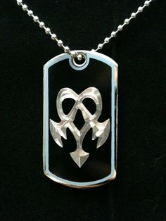 Kingdom Hearts Dream Eater Nightmare Dog Tag by ambersunset, $10.00