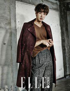 "Kim Young Kwang Shows His Tousled Hair with ""Elle"" Lee Jin Wook, Ahn Jae Hyun, Lee Hyun Woo, Choi Seung Hyun, Ji Chang Wook, Korean Men, Asian Men, Korean Wave, Korean Style"