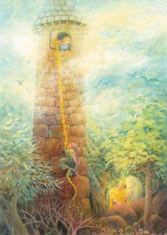 'Rapunzel' - Gabriel