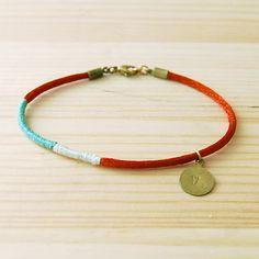 lariat colorblock layering bracelet - etsy