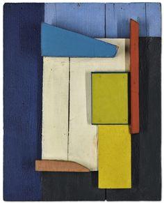 """themodernartists: """"Kurt Schwitters Blau (Blue), Oil and wood relief. Kurt Schwitters, Collages, Collage Art, Art Sculpture, Abstract Sculpture, Pop Art, Modern Art Movements, Inspiration Art, Art Moderne"""