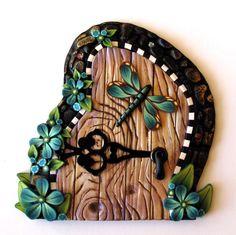 Dragonfly Fairy Door. $18.00, via Etsy.