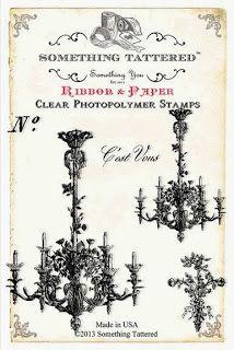 Shabby Beautiful Scrapbooking: Shabby Chic Library pocket mini album using Something Tattered Stamps