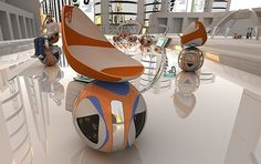 Futuristic, Supple Electric Vehicle by Mohamad Sadegh Samakoush