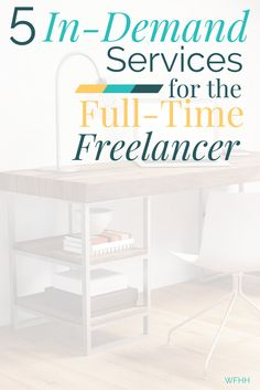 Thinking Of Freelancing Full Time But Wondering What Services Sell Well These 5 In Writing JobsEarning