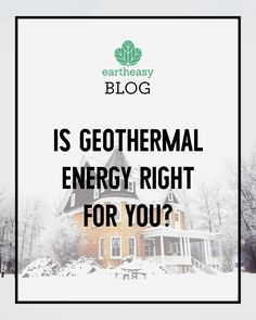 A home geothermal system could save you money while slashing household carbon emissions...