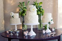 beautiful and simple cakes!