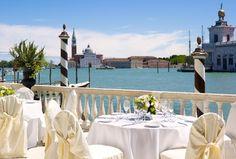 La Terrazza sul Canal Grande - wedding setup