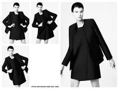 Crystal Renn Styled by Crystal Renn for Rad Hourani - The Fashion Spot