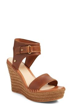 UGG® 'Maryanne' Wedge Sandal (Women)