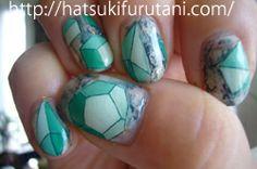 The work of nail art by hatsuki furutani, a Tokyo based manicurist http://hatsukifurutani.com/  http://instagram.com/hatsukifurutani# http://ams-ebisu-place.blogspot.jp/ http://hatsukifurutani.tumblr.com/  #nail, #nails, #nailart, #naildesign, #beauty, #makeup, #fashion, #art, #nailaddict, #polish, #manicure, #manicurist, #creepy, #weired, #diamonds