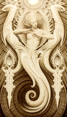 This is symbolically erotic and beautiful. Would love this carved into a large plaster wall in my home one day.