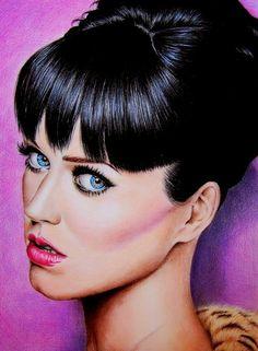 dibujos-de-rostros-mujeres Valentina Zou