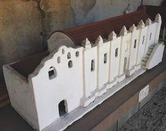 Replica-San Gabriel Archangel-Mission-1771-California Mission-626 ...