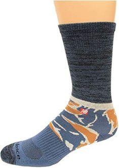 84189e339ad6 Enjoy exclusive for New Balance Tiger Camo Crew Socks, Grey/Blue, Large:  Shoe Size Men's 9-12.5 / Women's 10-12, 1 Pair online