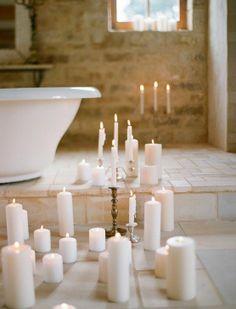 i romantyczne kąpiele...
