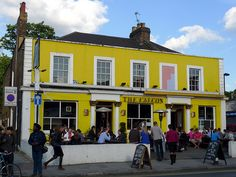 Then moved to Sandmere Road, Clapham North, this is a picture of my favorite local Clapham Common, Best Pubs, Pub Crawl, Beer Garden, Public Transport, Good Music, Sunny Days, Night Life, Street View