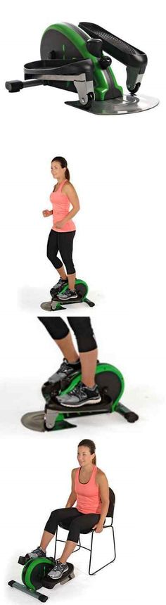 Other Mobility and Disability: Stamina Inmotion Elliptical Trainer Exercise Equipment For Desk Exercises, Green BUY IT NOW ONLY: $137.97