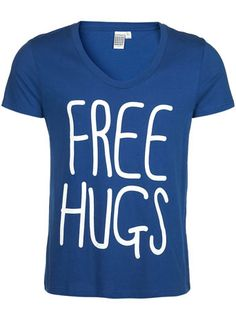 lol I would totally wear this while doing free hugs :)