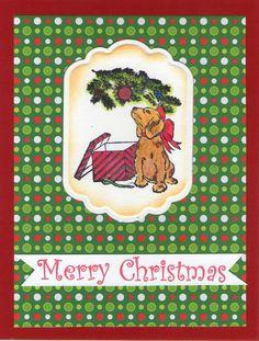 Dog Under Tree1738