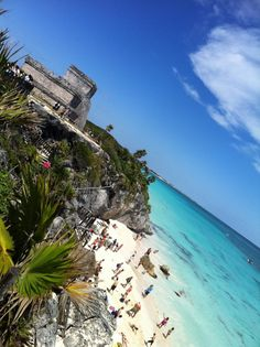 the ruins by the sea: tulum