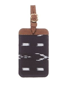 "- Description - Artisan - Hang Tag Set your bag apart from the rest with a colorful luggage tag crafted from bright, hand-woven textiles. * Approximately 5"" long x 3"" wide; Strap adds 3"" in length * A"