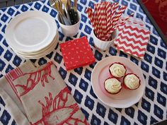 Design Sprinkle: Simple Fourth of July Party Ideas. These party essentials were purchased at yours truly, @HomeGoods! via Instagram