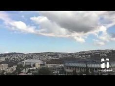 Jesus tomb was opened today in Israel a circle formed in sky and trumpet sound was heared praise God - YouTube
