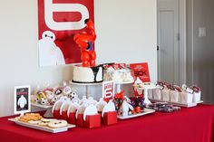 big hero six birthday party ideas | Wants and Wishes: Party planning: Big Hero 6- Baymax inspired birthday