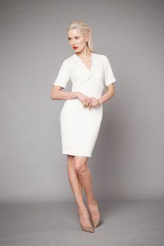 SS13   Lya Solis White Dress, Spring Summer, Dresses For Work, Shopping, Fashion, Moda, Fashion Styles, Fashion Illustrations