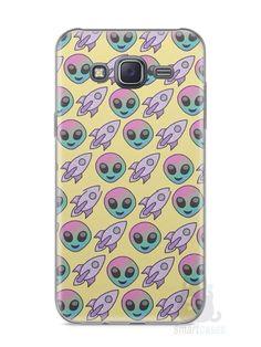 Capa Samsung J5 Aliens e Foguetes - SmartCases - Acessórios para celulares e tablets :)