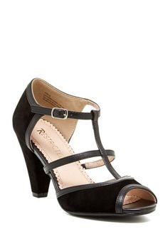 Restricted Doreen Peep Toe T-Strap Sandal