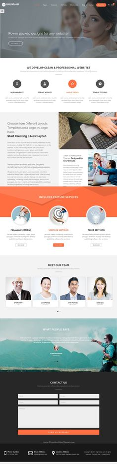 Highstand is simple, clean and Professional Responsive WordPress theme for multipurpose websites. It has wonderful 30 Different Home Pages style and amazing features. Download Now!
