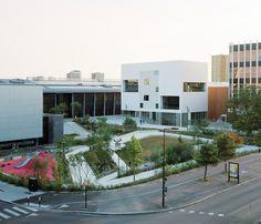 Galeria de Conservatório de Nantes e Acadêmia de Artes Cênicas / RAUM + L'Escaut Architectures - 12