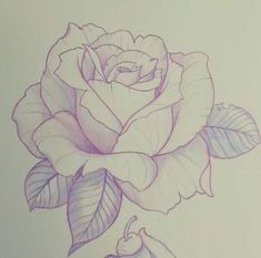 New Rose Snapshots Drawing Ideas, 36 Trendy Drawing Flowers Rose Tattoo . - New Pink Snapshots Drawing Ideas, # Ideas # Snapshots - Rose Drawing Tattoo, Tattoo Drawings, Art Drawings, Tattoo Ink, Cool Rose Drawings, Drawing Of A Rose, Rose Tattoo Stencil, Drawing Sketches, Pencil Drawings