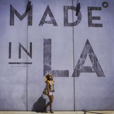 The Most Insta-Worthy Backdrops In LA | Made in LA sign